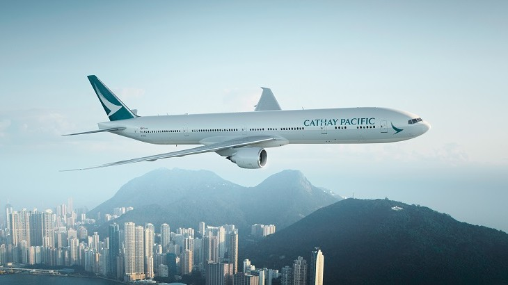 Cathay Pacific's new and simplified livery will be progressively rolled out in the next five years.