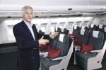 Cathay Pacific Chief Executive John Slosar introduces the design.