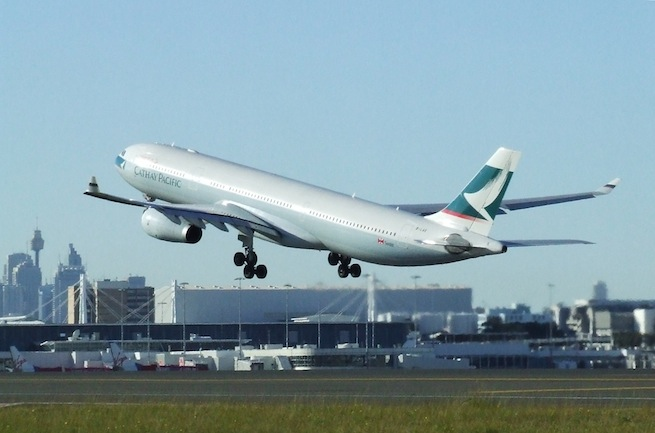 Cathay's A330.