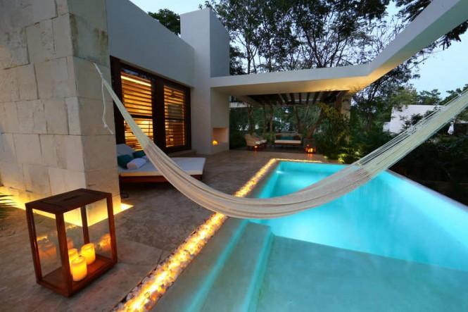 Each villa (also called casitas) comes with its own pool. All photos and the video are courtesy of the property.