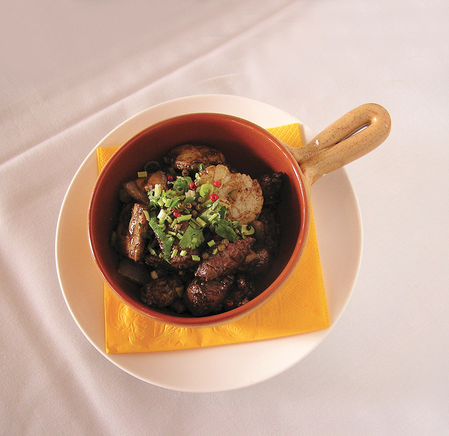 A dish at Chairman & Yip.