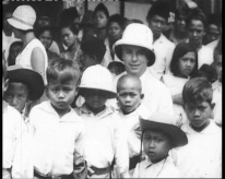 Bali events: a scene from Charlie Chaplin Visits Java and Bali 1932 at the Balinale film fest