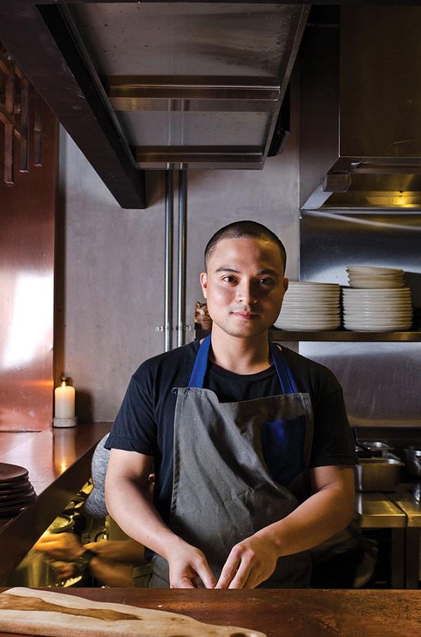 Mecha Uma's chef Bruce Ricketts.