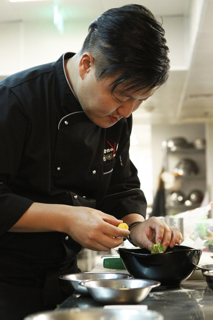 Chinese chef Kenny Fu will cook at TungLok Signatures during the event.