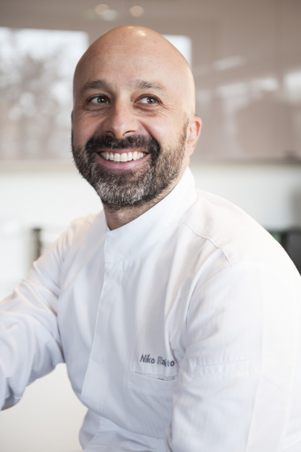 Chef Niko Romito inherited Reale from his father at the young age fo 25.