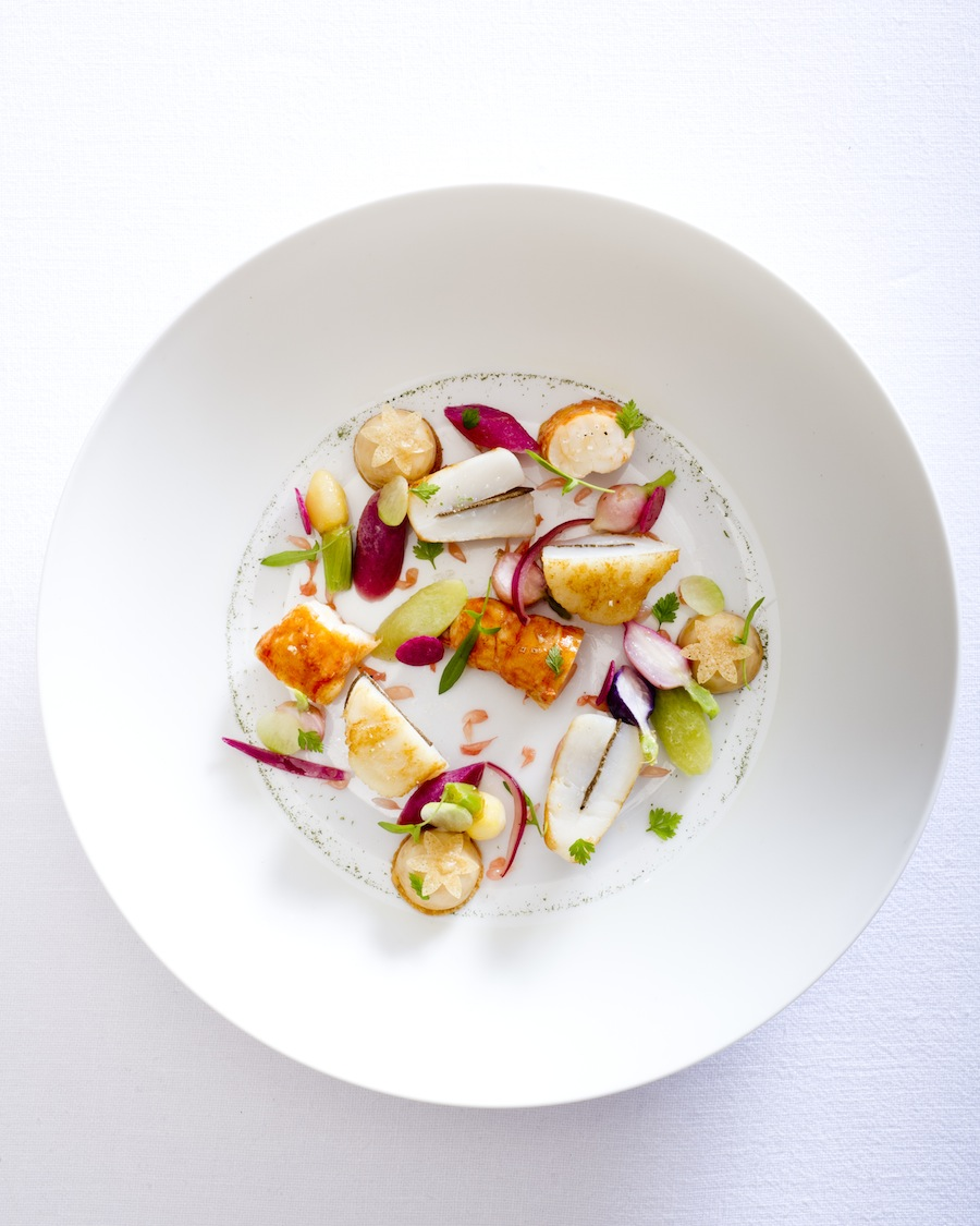 Chef Mille's langoustine.