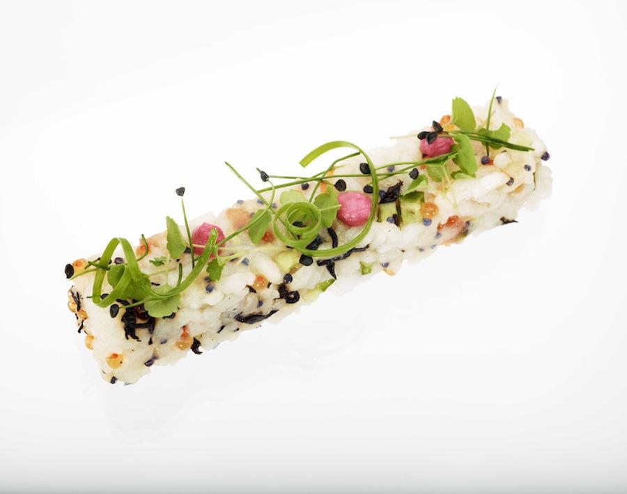 Sushi décomposé by Degeimbre.