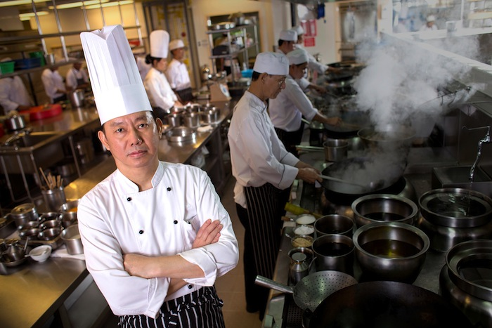 Executive chef Sham Yun Ming.