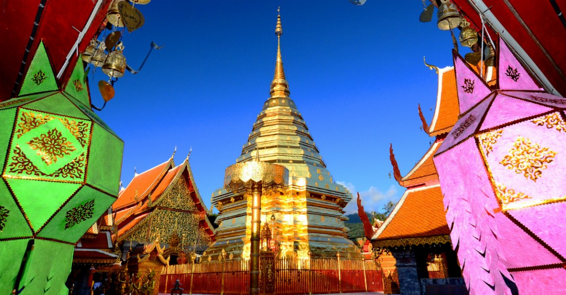 Home to elaborate temples, gorgeous scenery, and a thriving arts scene, Chiang Mai is a sanctuary of a city in northern Thailand.