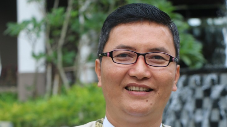 Sedona Hotel Yangon chief concierge Aung Htin Kyaw.