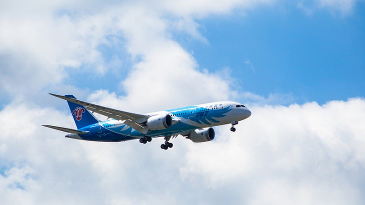 China Southern's Boeing 787