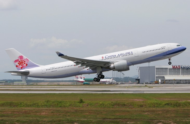 China Airlines' upcoming Taipei-Melbourne-Christchurch route will fly three times a week.