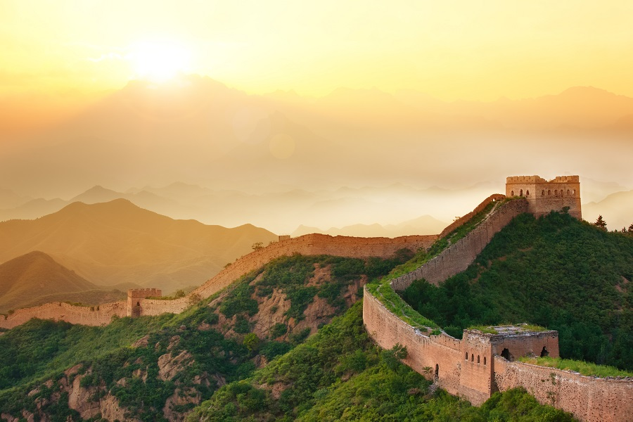 Built more than 2,000 years ago, the Great Wall of China remains one of the world's most awe-inspiring monuments, receiving more than 16 million visitors each year and the only man-made object visible from space.