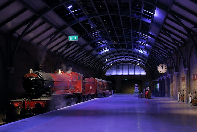 The new, permanent section of the Studio Tour offers a glimpse into how some of the films' most iconic scenes were created.