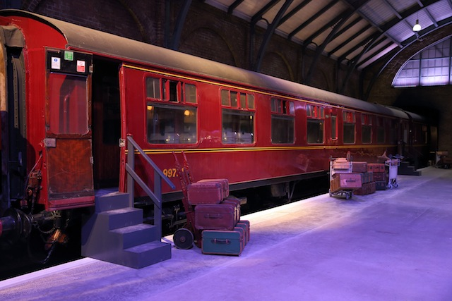 The 78-year-old working engine used in film production will be rigged with special effects as part of the studio tour.