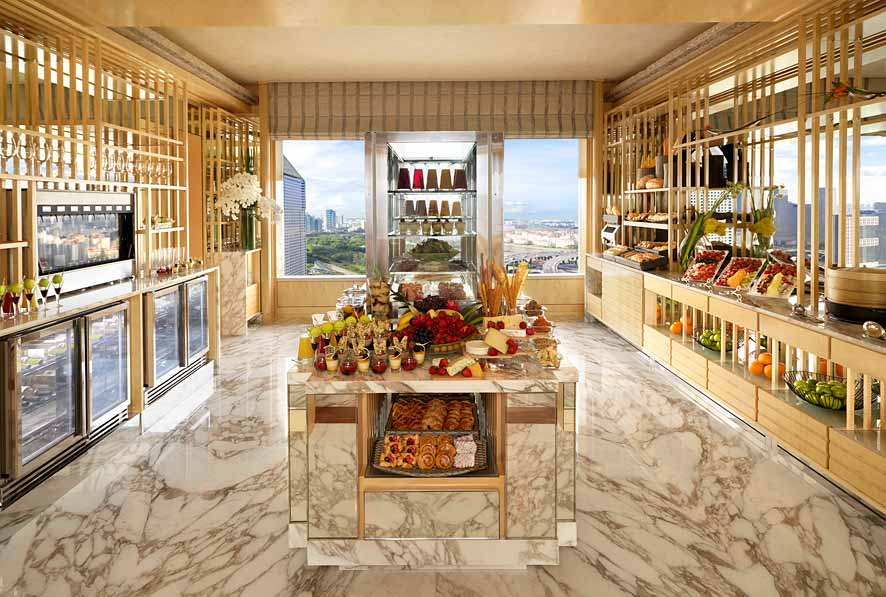 The 32-floor club lounge at the Ritz-Carlton, Millenia Singapore has reopened after a renovation.