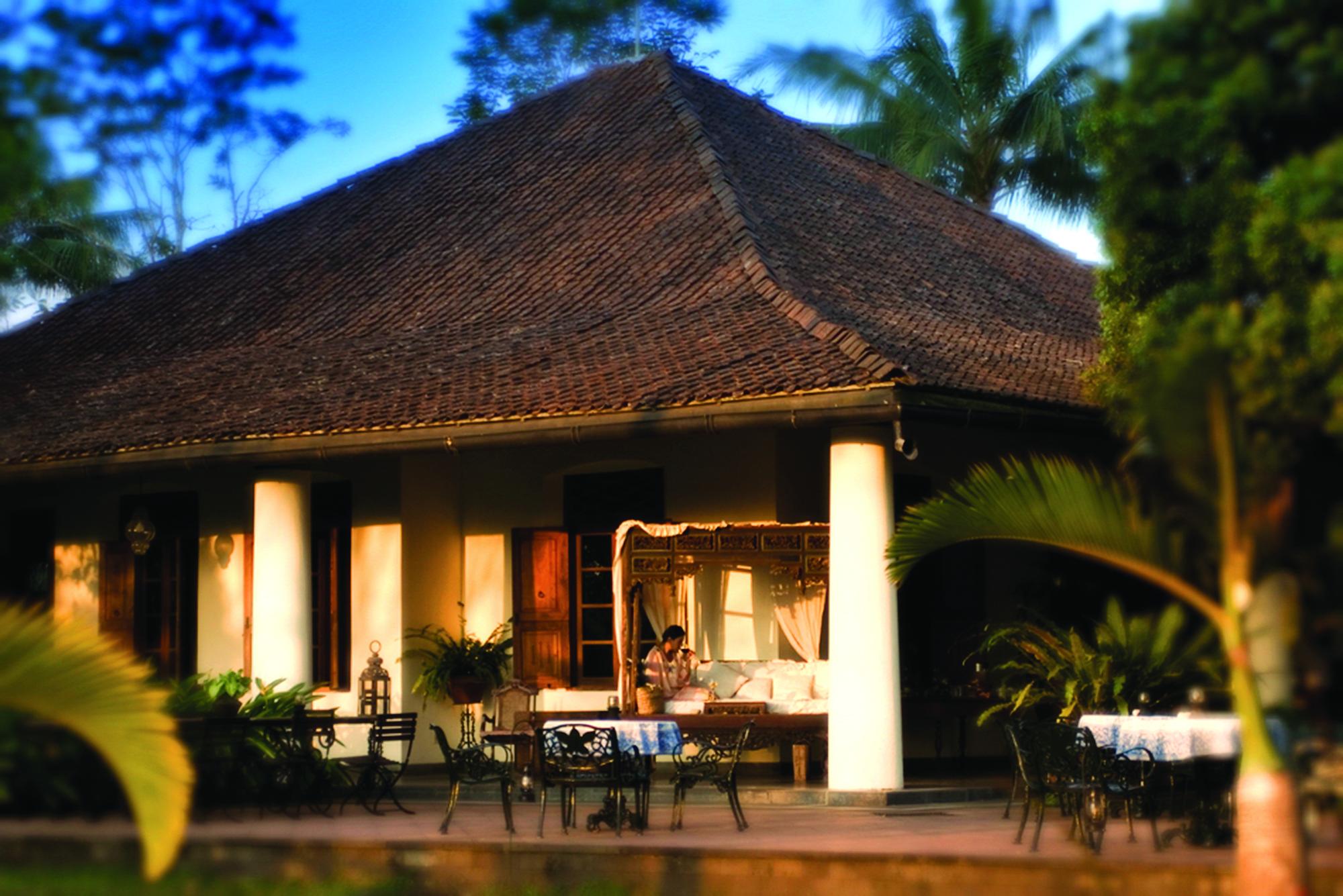 Losari's colonial-era planter's mansion.