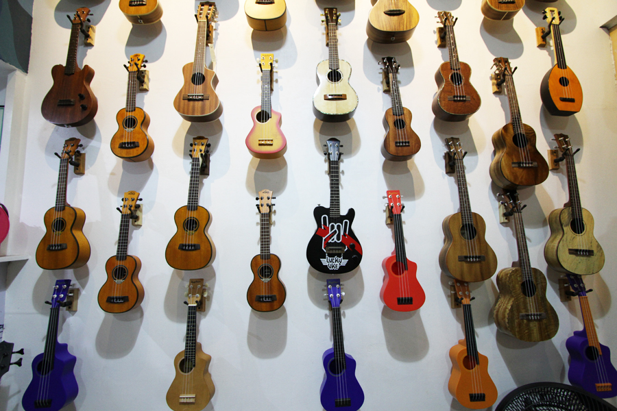 Make some music at Ukulele Philippines.