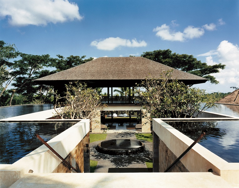 The Ojas building at the group's Shambhala Estate is part of the resort's award-winning holistic retreat and spa.