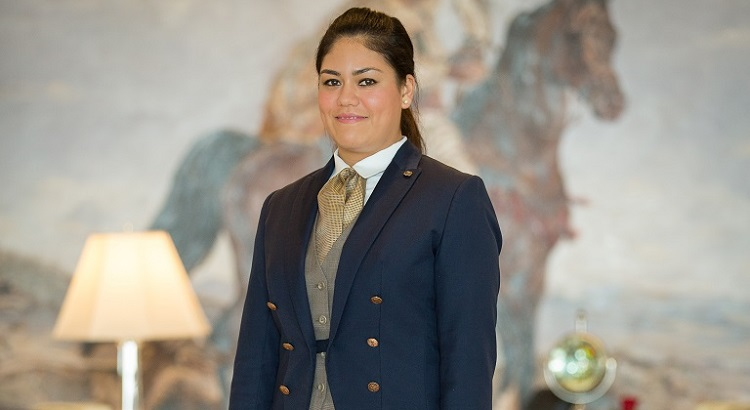 Veronica Torres, head butler at St. Regis Dubai.