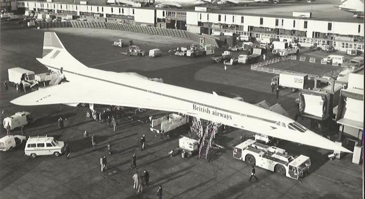 Concorde accommodated a total of 100 passengers.