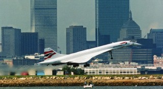 Concorde's maiden flight was from London to Bahrain in 1976. (Photo courtesy of British Airways)