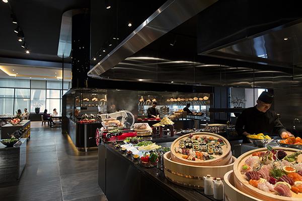 Zest features the freshest sushi and sashimi, mediterranean, western, Asian Wok, and Korean favorites.