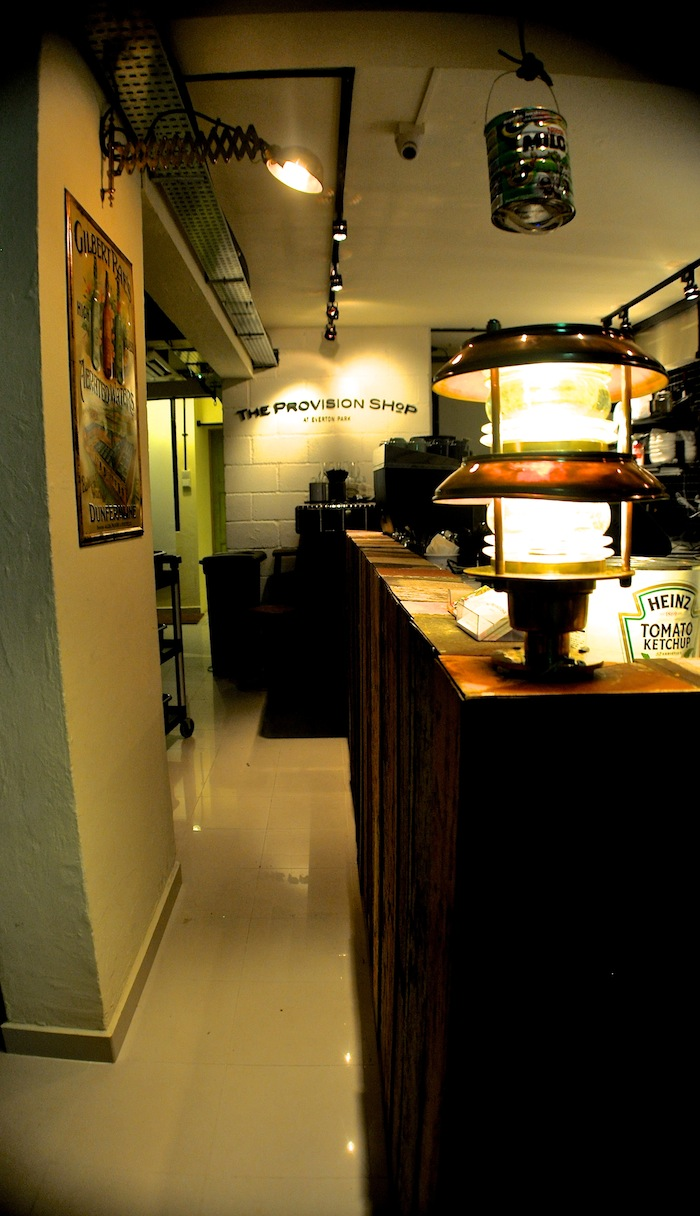 The interior of the Provision Shop.