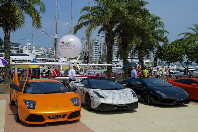 A supercar rendezvous will be on display on Saturday and Sunday.