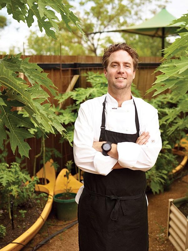 Cicada Lodge's chef de cuisine, Dean Julian.