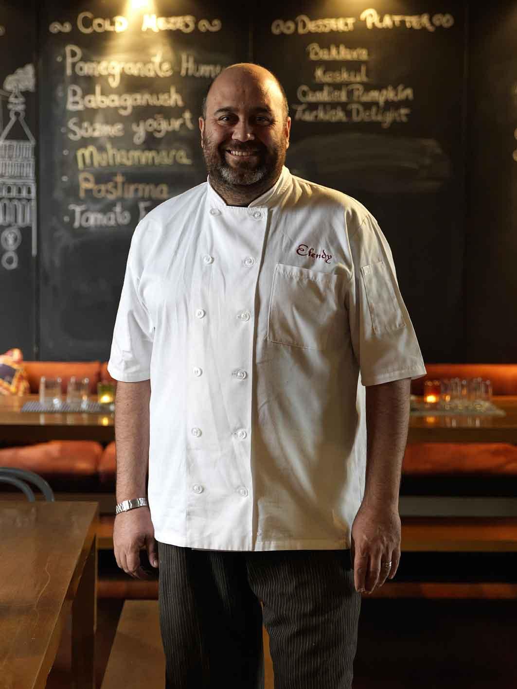 Efendy chef Somer Sivrioglu.