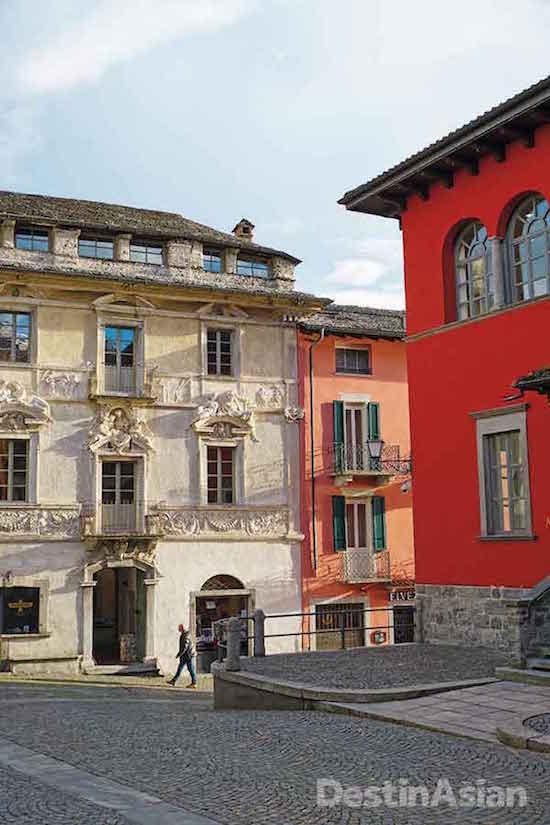 Ascona's old quarter.