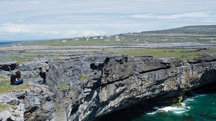 Cliffside drama on Inishmore.