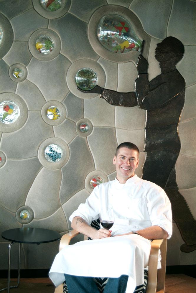 Mikla Restaurant's Chef Mehmet Gurs.