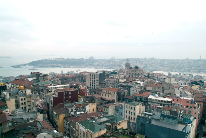 Mikla's Rooftop Overlooks The Golden Horn.