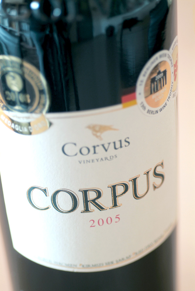An Award-Winning Corvus Red.