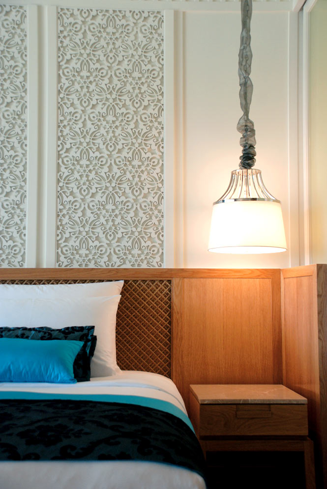 A guest room at InterContinental Hua Hin, the newest resort in town.