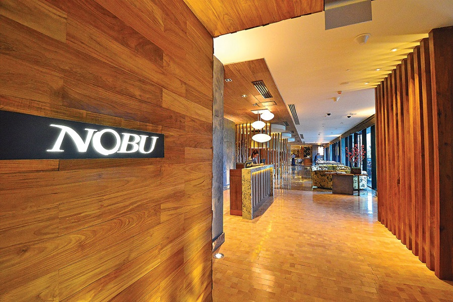 Manila's Nobu restaurant is the signature dining experience at the months-old Nobu Hotel in Paranaque City.