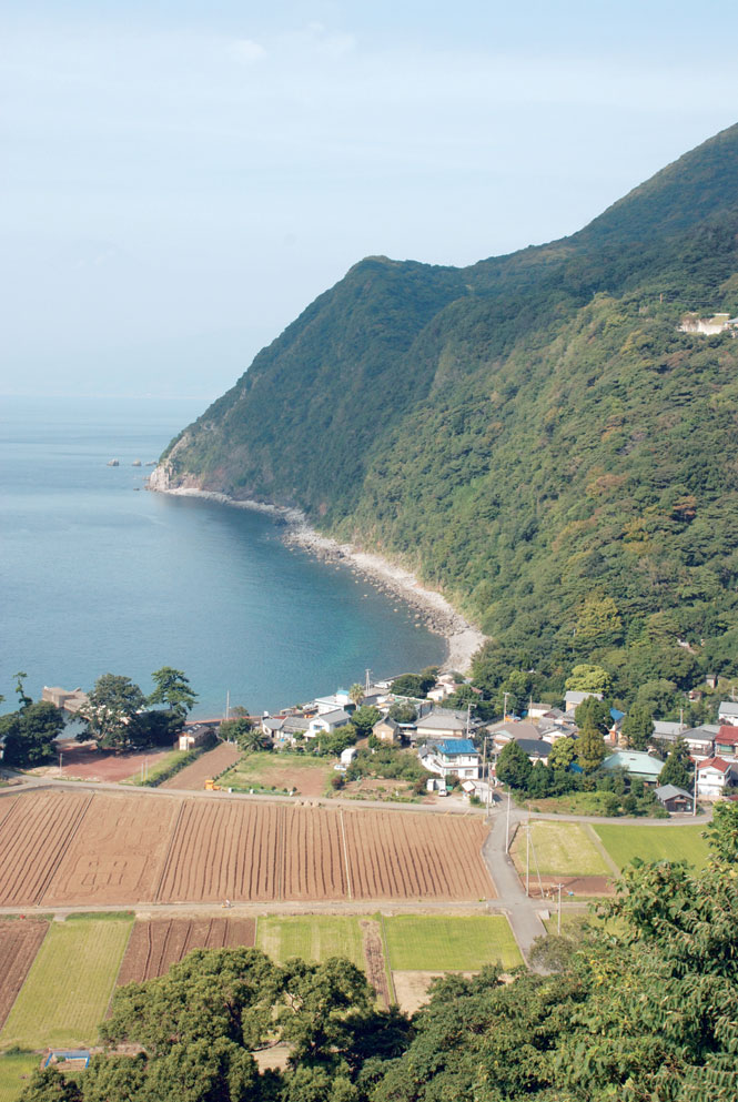 Ita Beach, a hamlet on the Izu's windswept west coast.