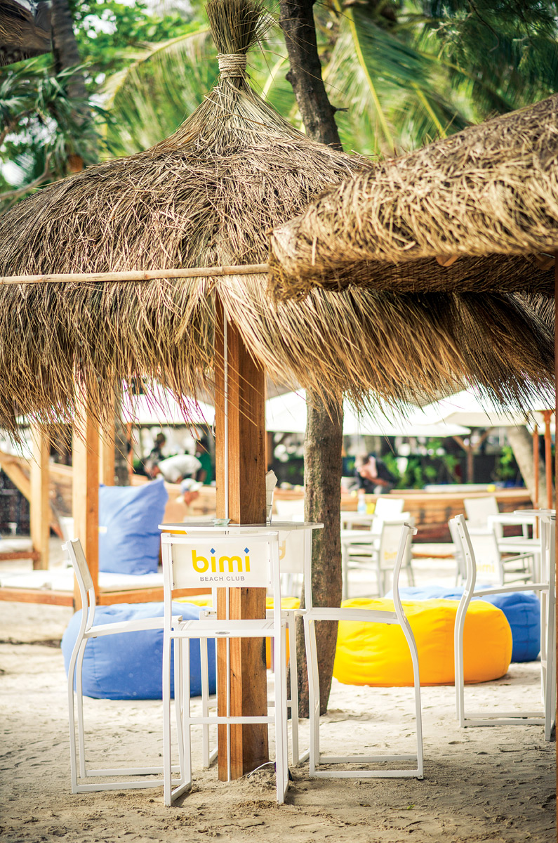Bimi is a new all-day beach club in Phuket.