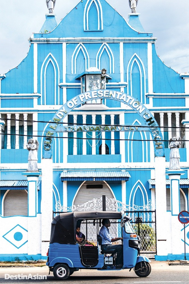 A 17th-century Catholic church in Batticaloa.