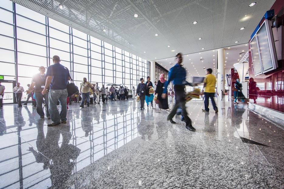 Al Maktoum International at Dubai World Central.