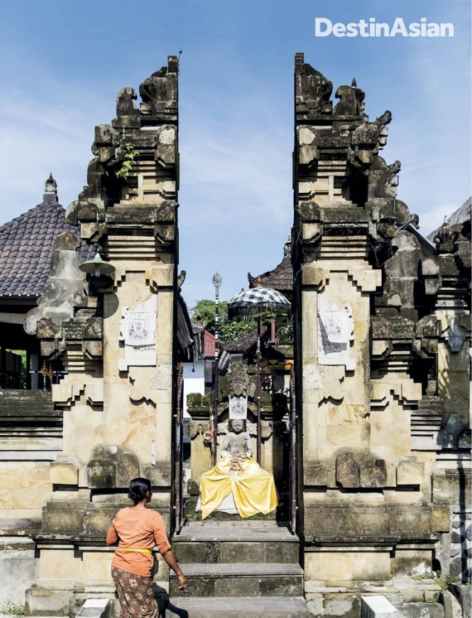 The Griya Agung Budha Salahin compound in Demulih.