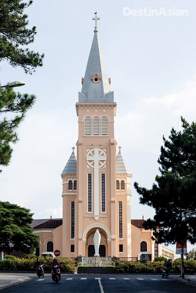 Dalat Cathedral.