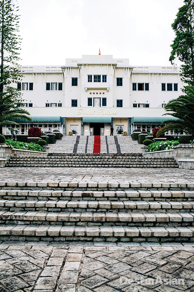 Originally opened in 1922, the Dalat Palace hotel still embodies the European elegance that homesick colonials once enjoyed.