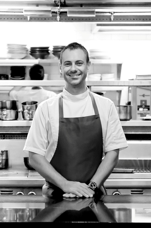 Dallas Cuddy of The Prime Society in Singapore has worked in The Point's kitchen in Melbourne and Nobu, London.