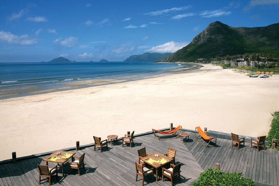 The Six Senses Con Dao has the beach to itself east of Con Son town.