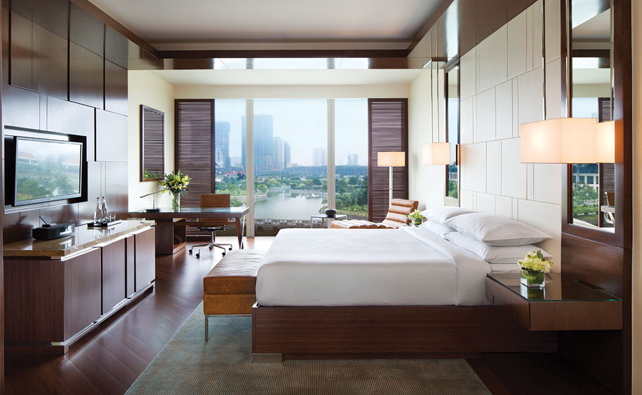 Starting at 48 square meters, the 450 rooms and suites at the hotel are among Hanoi's largest.