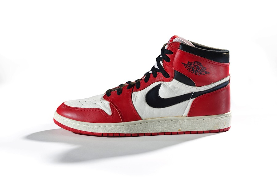 Nike Air Jordan I, 1985, Nike Archives, © Ron Wood