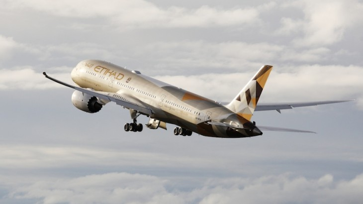 Etihad operated its first Dreamliner in February 2015.